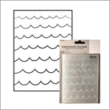 Waves Embossing Folder by Darice Embossing Folders 30032585 - Inspiration Station Scrapbook Store & Retreat
