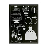 Wedding Embossing Folder By Darice Embossing Folders 30041354 - Inspiration Station Scrapbook Store & Retreat