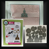 Wedding Icons Die Cut Set by Impression Obsession Dies DIE245-S - Inspiration Station Scrapbook Store & Retreat