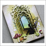Wildwood Collage Die Cut by Memory Box Dies 99732 Inspiration Station Scrapbook Store & Retreat