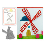Windmill Metal Die by Frantic Stamper Dies FRA-DIE-10363 - Inspiration Station Scrapbook Store & Retreat