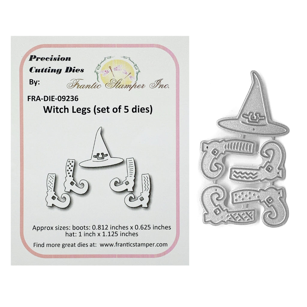 Witch Legs Metal Die Set by Frantic Stamper Dies FRA-DIE-09236 - Inspiration Station Scrapbook Store & Retreat