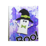 Witch Hat Metal Die Cut by Impression Obsession cutting dies DIE1042-H