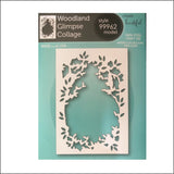 Woodland Glimpse Collage Metal Die Cut by Memory Box Dies 99962 - Inspiration Station Scrapbook Store & Retreat