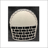 Woven Basket Die Cut by Memory Box Dies 99957 - Inspiration Station Scrapbook Store & Retreat
