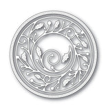 Wrapped Holly Circle Frame Metal Die Cut Set by Memory Box Dies 94040 - Inspiration Station Scrapbook Store & Retreat