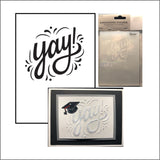 Yay! Embossing folder by Darice Embossing Folders 30032602 - Inspiration Station Scrapbook Store & Retreat