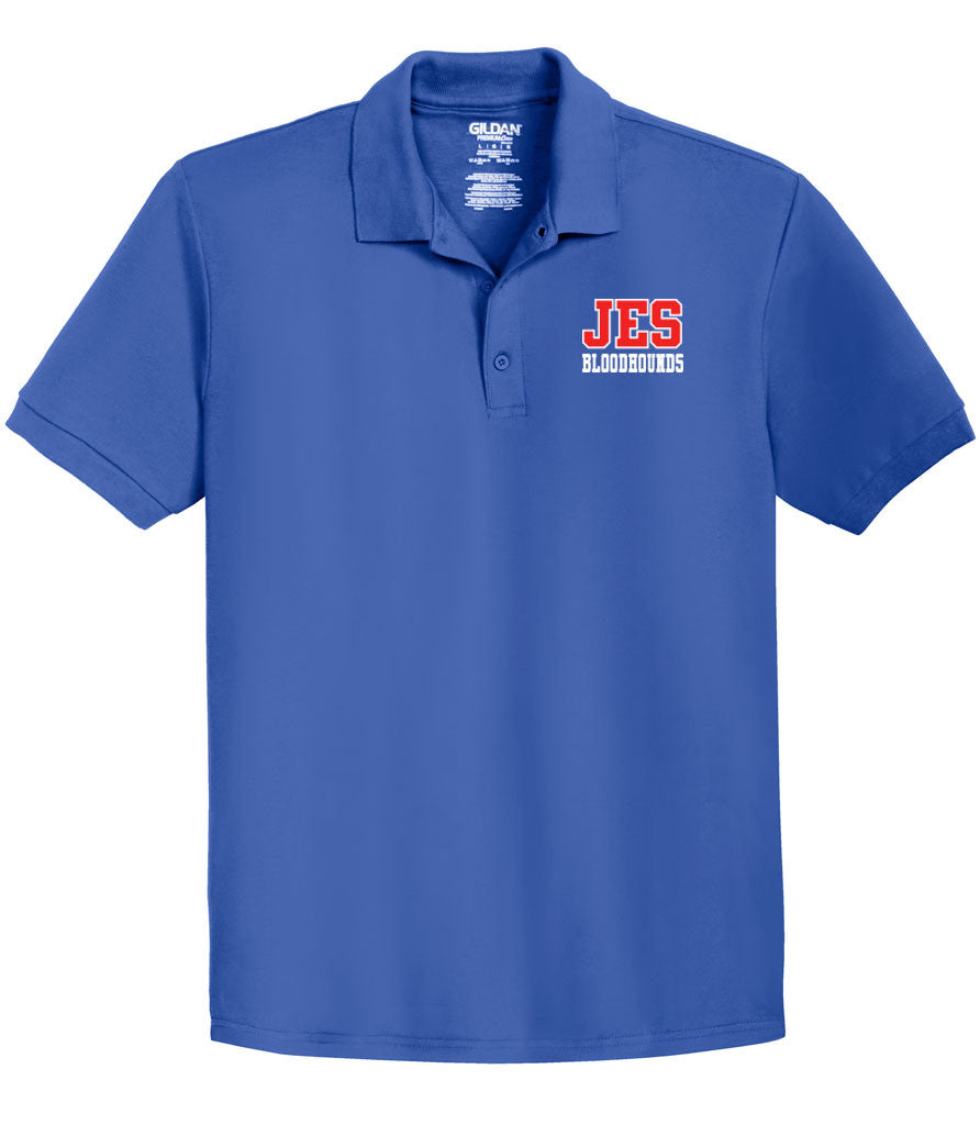 JES Cotton Polo - JES Logo