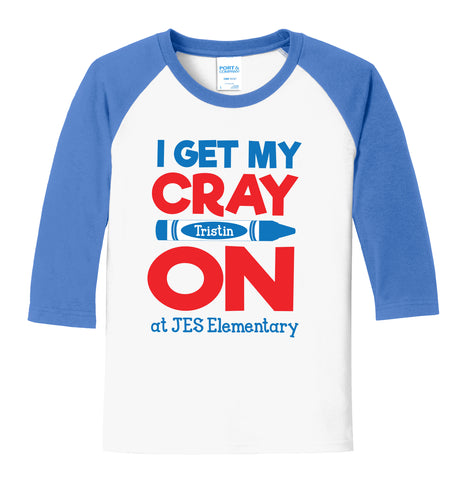 I Get My Cray-On at JES