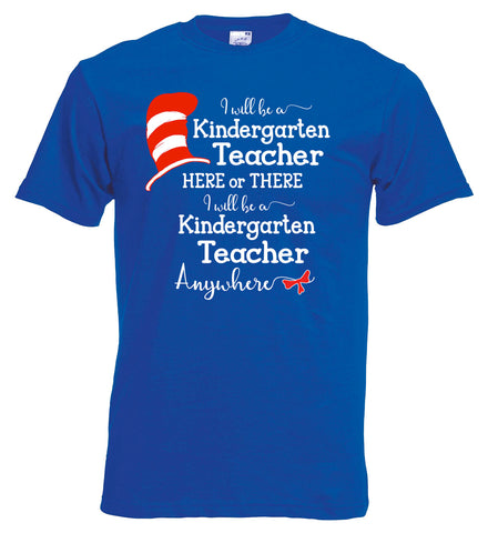 I Will Teach Kindergarten Here or There