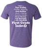 I Am a First Grade Teacher (2 Color Options)