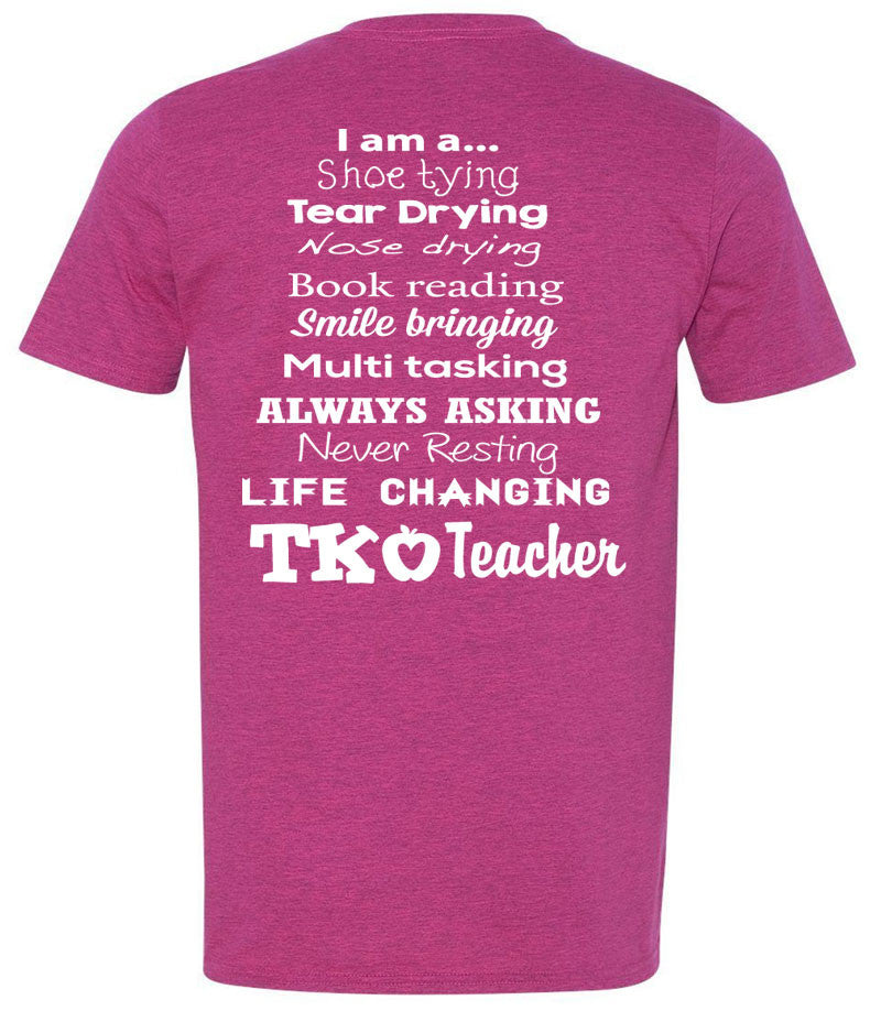 I Am a TK Teacher (2 Color Options)