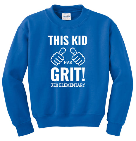 This Kid Has Grit Sweat Shirt