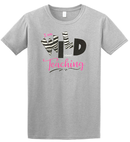 Embroidered Applique Tee Shirt \