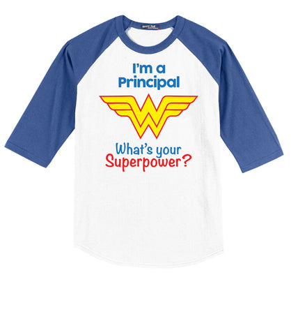 Principal Shirt Wonder Woman Edition