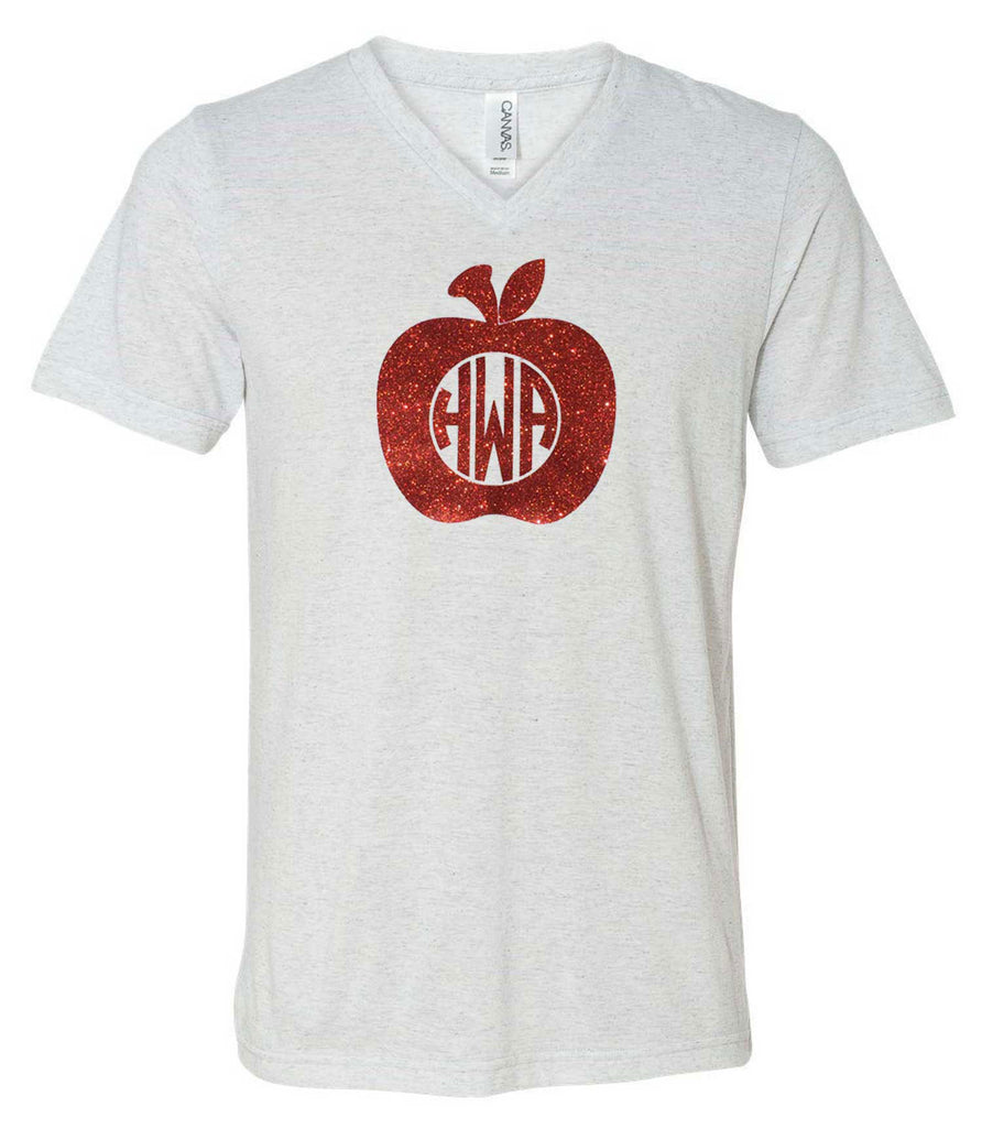 Apple Monogram Block Lettering