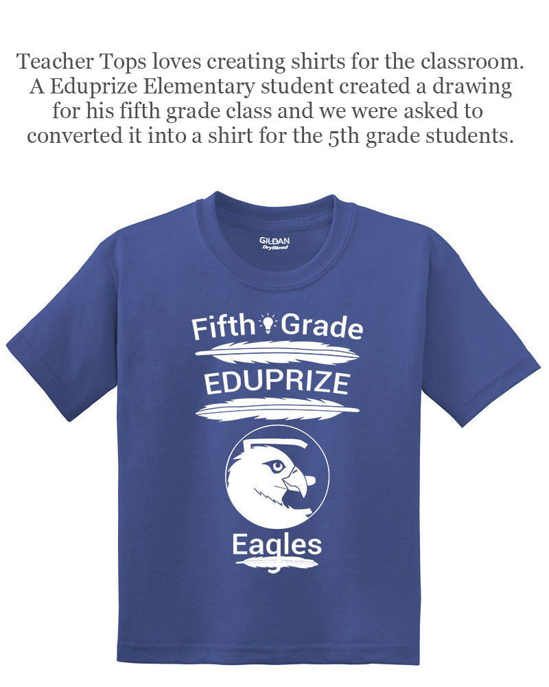 Teacher Tops loves creating shirts for the classroom.