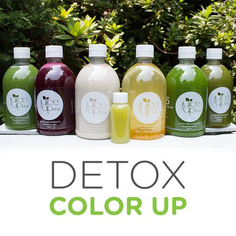 DETOX - COLOR UP [6 Jugos + 1 shot]