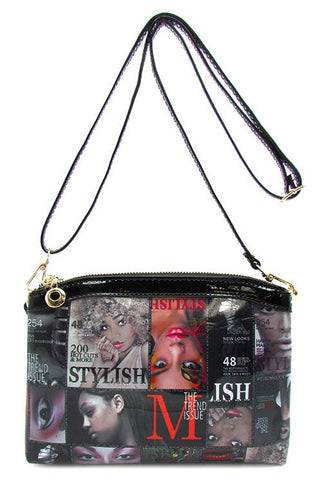 Magazine Messenger Handbag