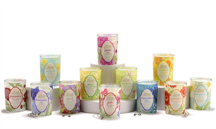 Birthstone Candles