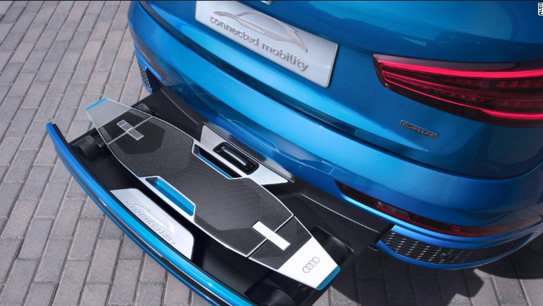 Free Electric Skateboard when you buy an Audi!