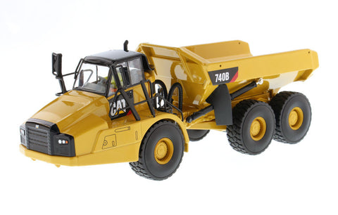 Caterpillar 740B Articulated Hauler/Dump Truck with Tipper Body - High Line Series  (85501)