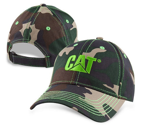 cap camo kid lime