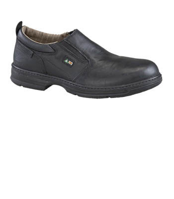 CONCLUDE CSA Black Steel Toe Dress Shoe (715028)