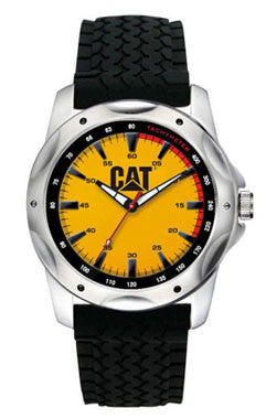CAT Tire Track Design Watch