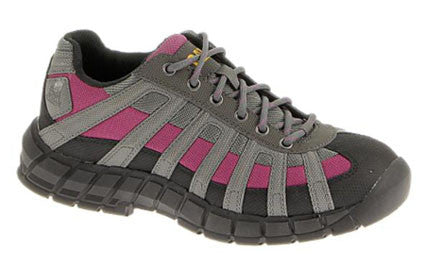 Switch CSA Gray & Pink Steel Toe Shoe (306858)