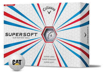 CAT Logo Callaway Super Soft Golf Balls