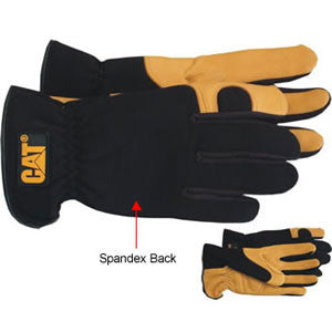 DEER SKIN GLOVES WITH GEL PAD (CAT012205)