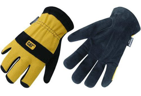 Insulated Spandex Leather Palm Glove (CAT012221L)