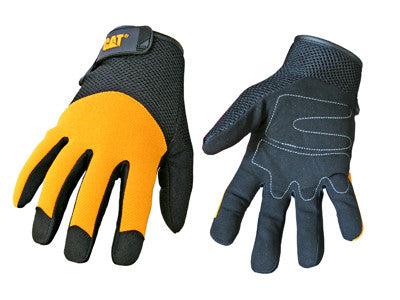 CAT Heavy Duty Padded Palm Work Gloves