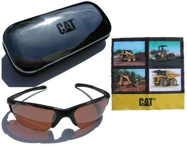 CAT 100% UV Protection Sunglasses with Case