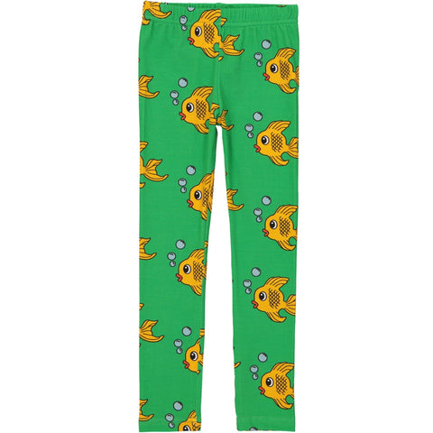 Leggings - Green Fish