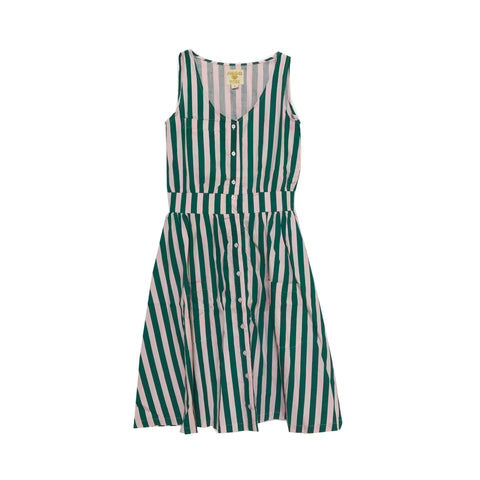 Adult Smock Dress - Beverly Hills Stripe