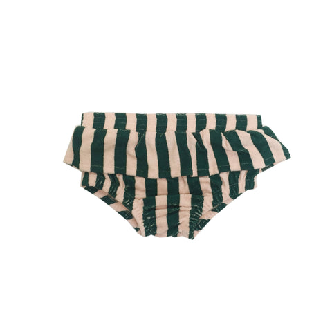 Terry Ruffled Bloomers - Beverly Hills Stripe