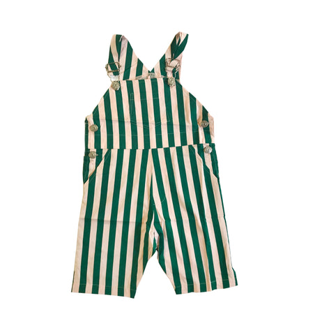 Overalls - Beverly Hills Stripe (3/4 quarter length legs)