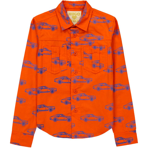 Collared Shirt- Cars