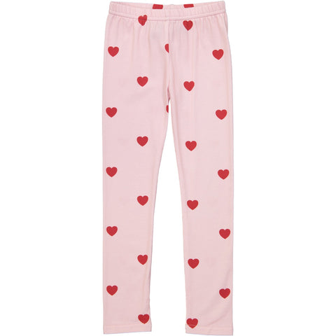 Leggings - KIP AND CO Red Hearts