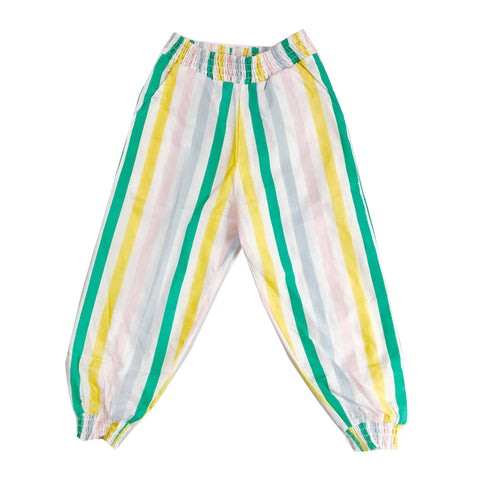 Bubble Pants - Pastel Stripes