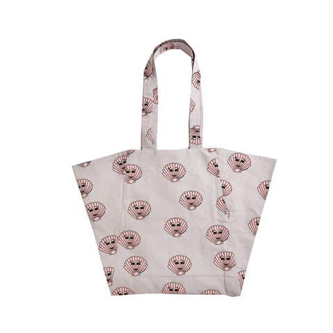 Beach Bag - Pink Seashells