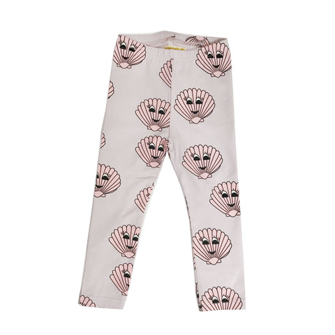 Leggings - Pink Seashells