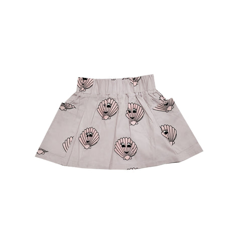Pocket Skirt - Pink Seashells