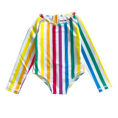 Surf Onesie - Rainbow Stripe