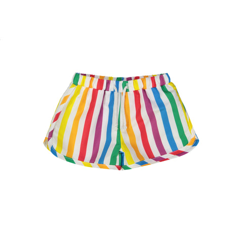 Swim Trunks - Rainbow Stripe