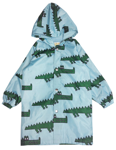 Raincoat - Blue Crocodile