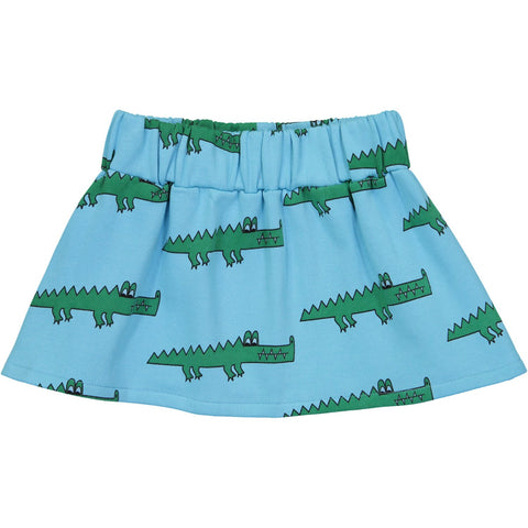 Skirt- Blue Crocodile