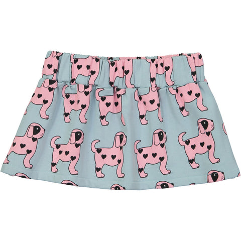 Skirt- Pink Dogs